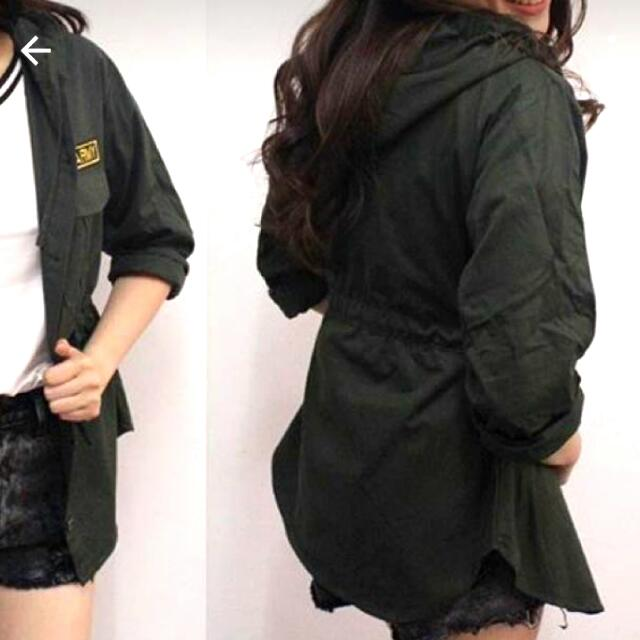 Army (Dark Green) Parka / Jacket / Trench