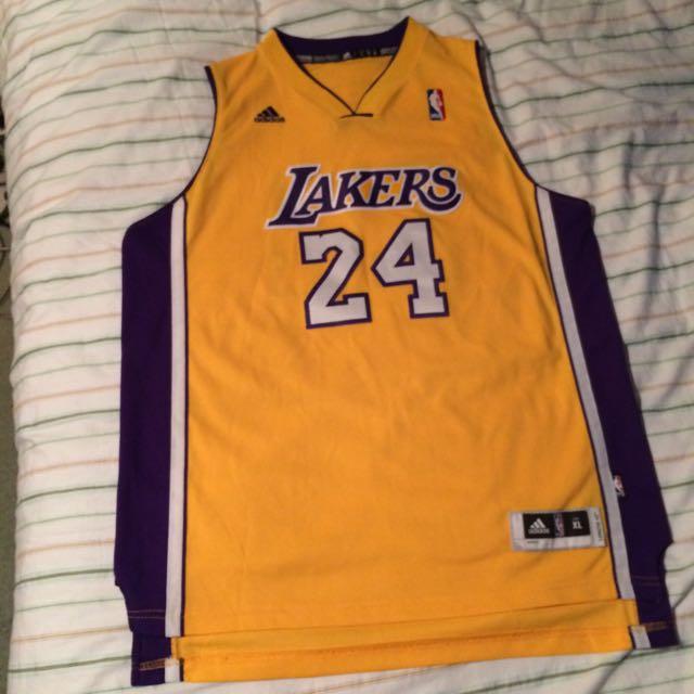 Authentic Kobe Bryant Lakers Adidas Jersey