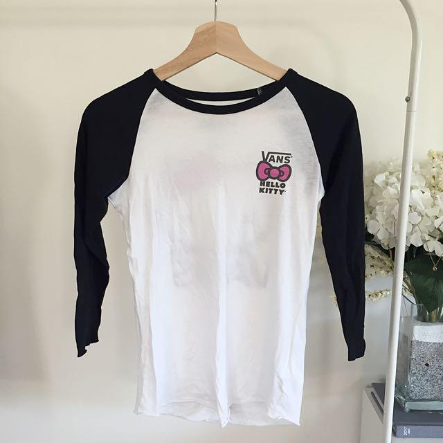 Authentic VANS Hello Kitty Top