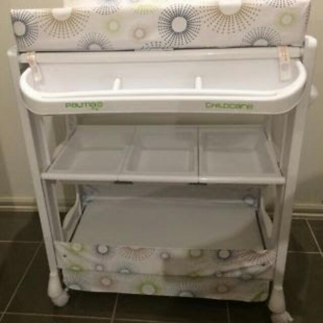 Baby Bath And Change Table