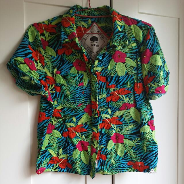 REDUCED Bellfield Button Up Top
