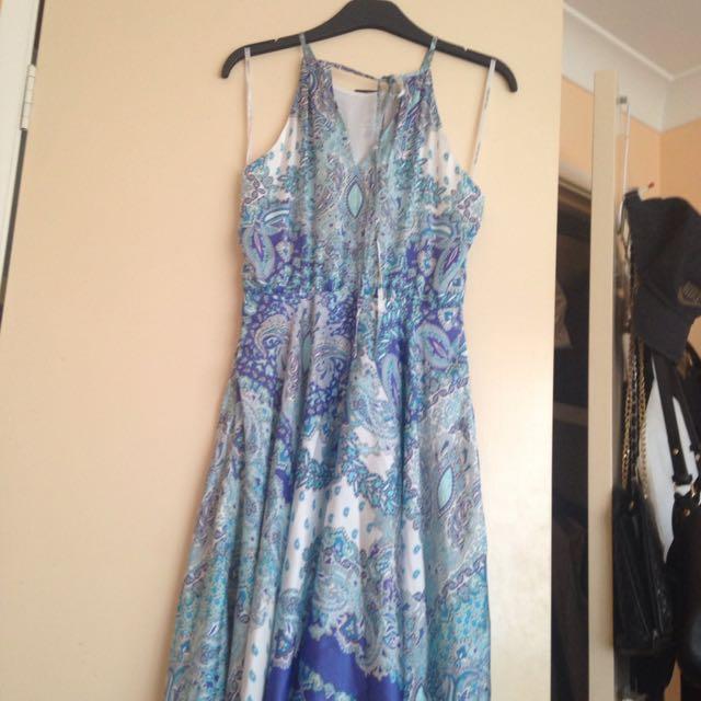 BNWT Forever New Marissa Printed Dress Sz 6