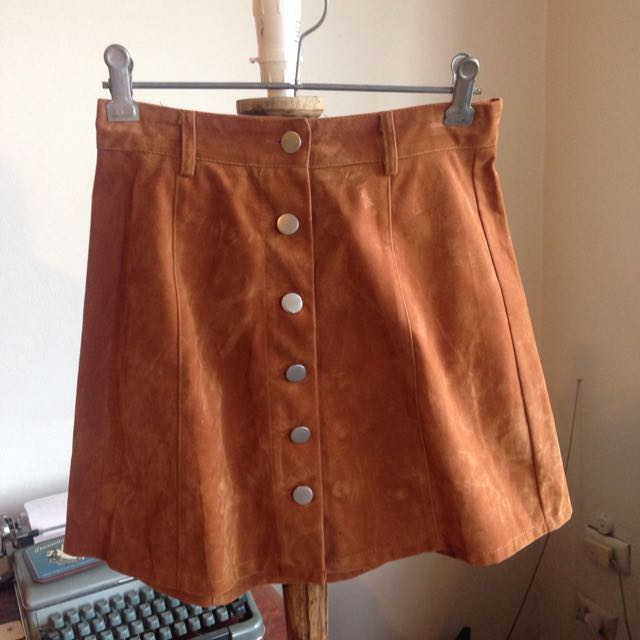 Brown Skirt Size 8