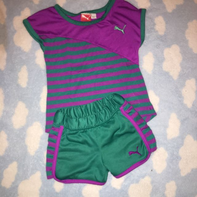 Children's 2 Pcs Puma Set