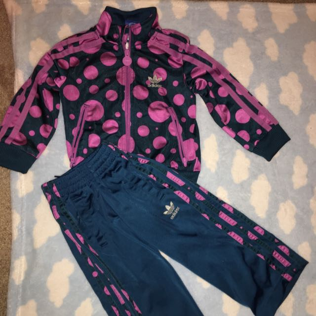 Children's Adidas 2 Piece Tracksuit