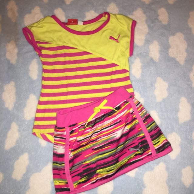 Children's Puma 2 Piece Set