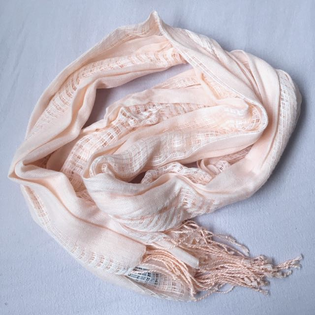 Coral Light Scarf