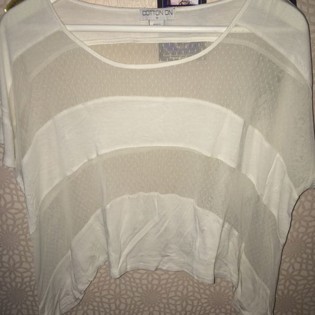 COTTON ON Cropped Top