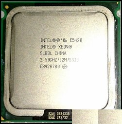 效能高的CPU / IntelR XeonR Processor E5420 (12M Cache, 2.50 GHz, 1333 MHz FSB)