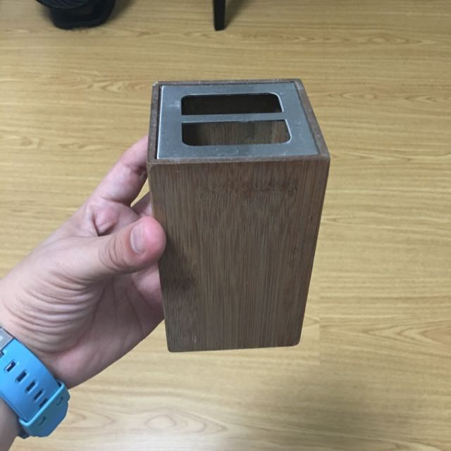 Crate And barrel Toothbrush holder