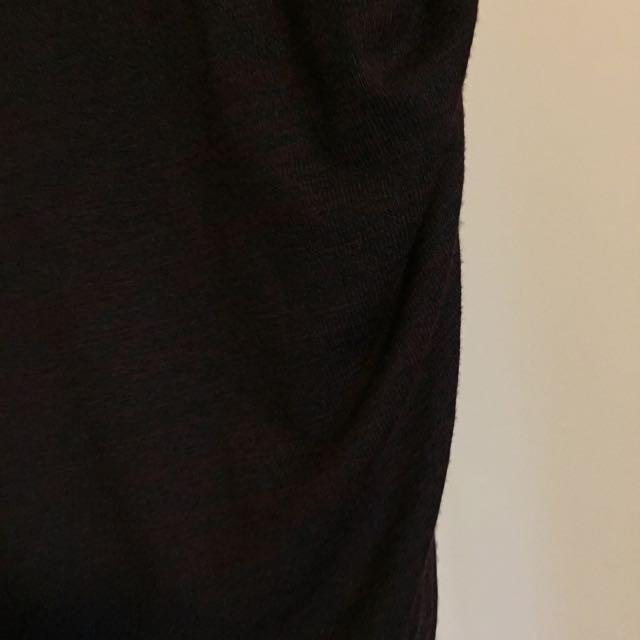 Dark Burgundy Wildfred Free Skirt