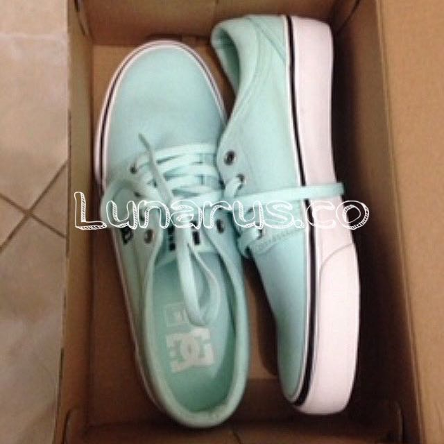 REPRICE!!!!! DC Turquoise Skate Shoes