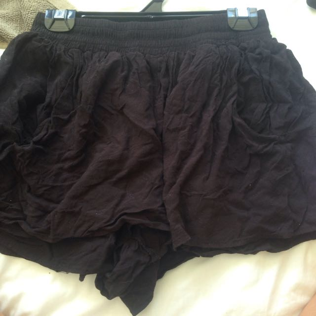 Decjuba Black Shorts