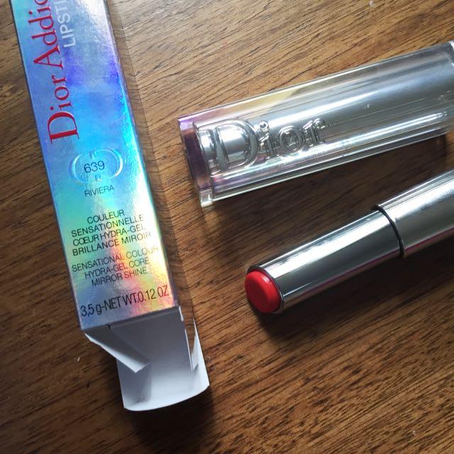 Dior addict lipstick - 639 Riviera