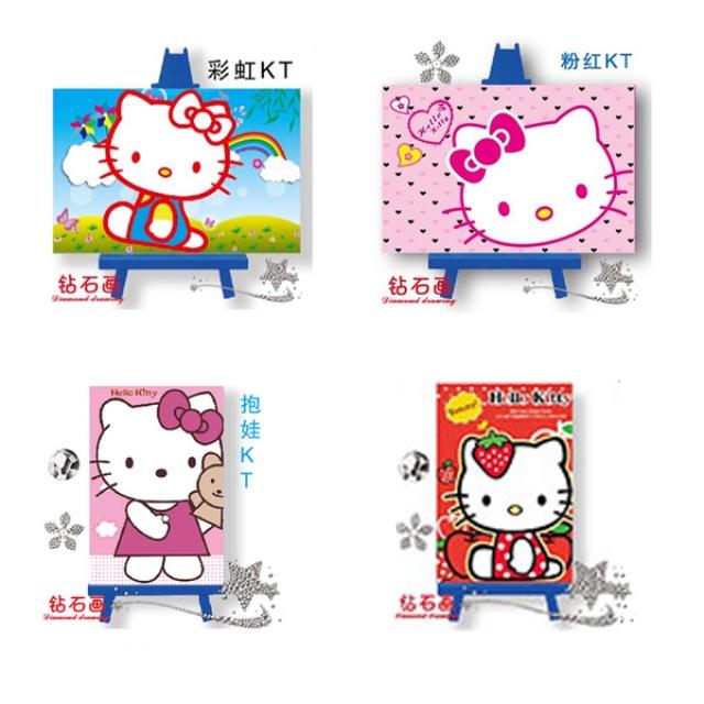 6c7ebd76d CLEARANCE!!!] DIY [Hello Kitty w/o frame] 5D Diamonds Painting ...