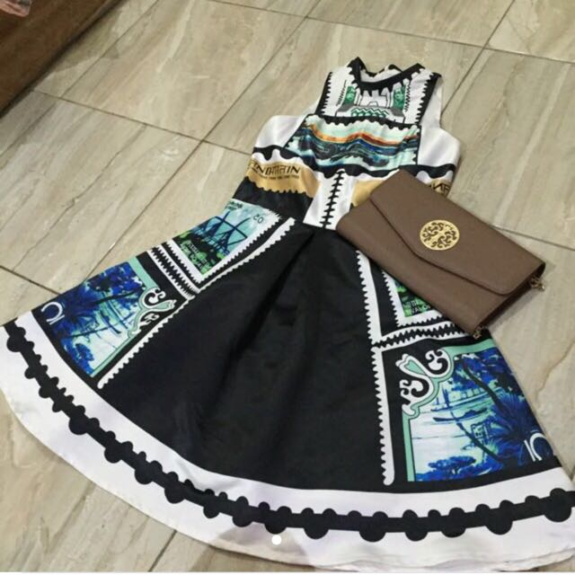 Dress Printed Bangkok