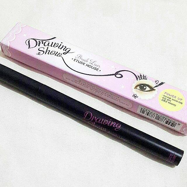 [REPRICE] ETUDE HOUSE Drawing Show Brush Liner