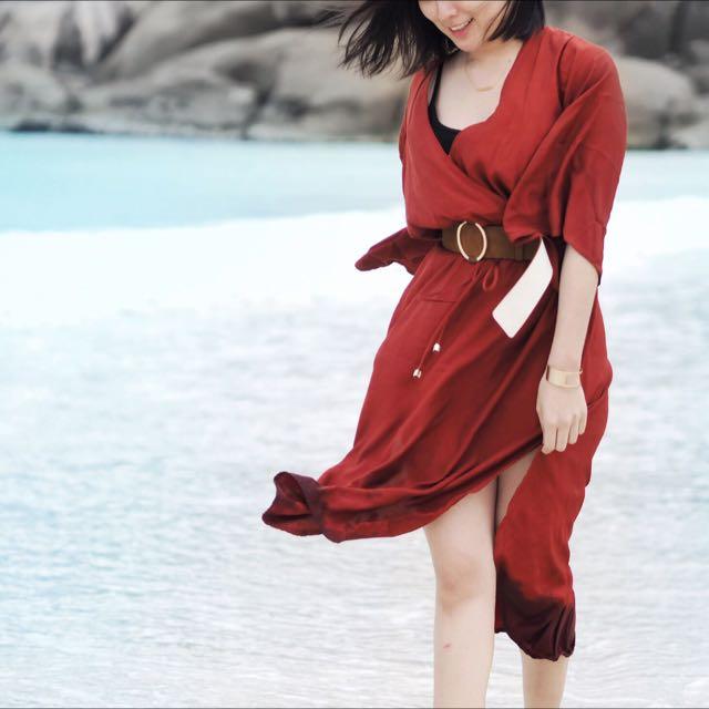 Faithful The Brand Laluna Maxi Dress XS
