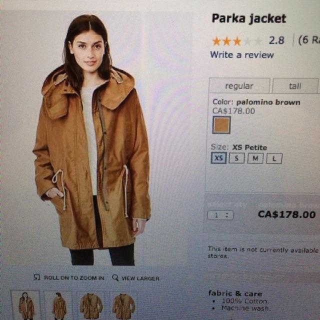 Gap - Parka Jacket
