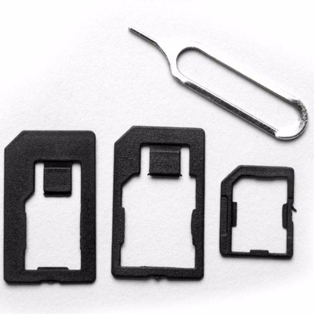 【GoMart】nano sim micro sim 還原卡套 轉接卡套 轉卡送退卡針 sim卡轉換iphone