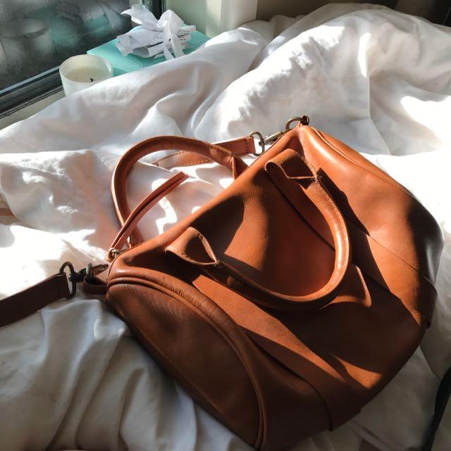 Gorman Brown Leather Bag