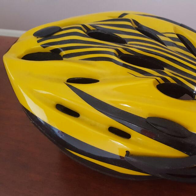 2 BICYCLE HELMETS