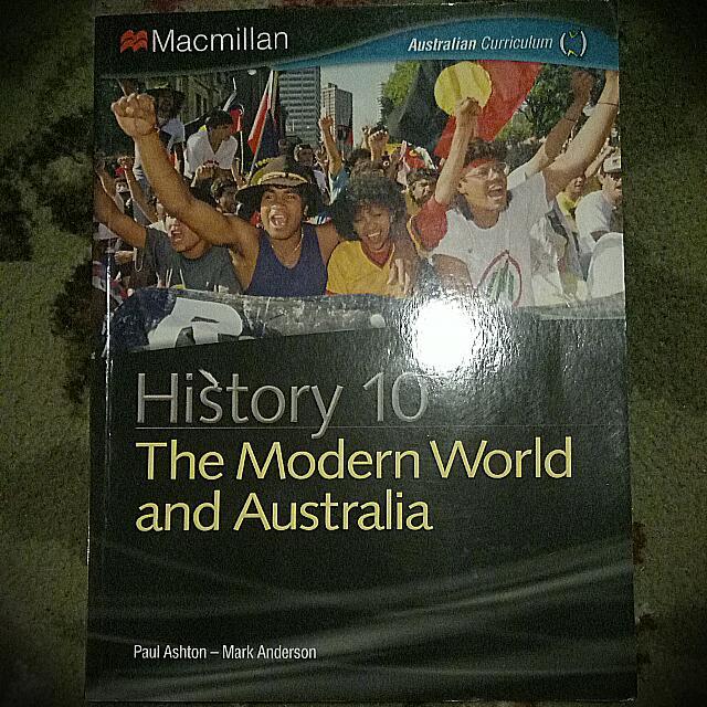 History 10 - The modern World And Australia