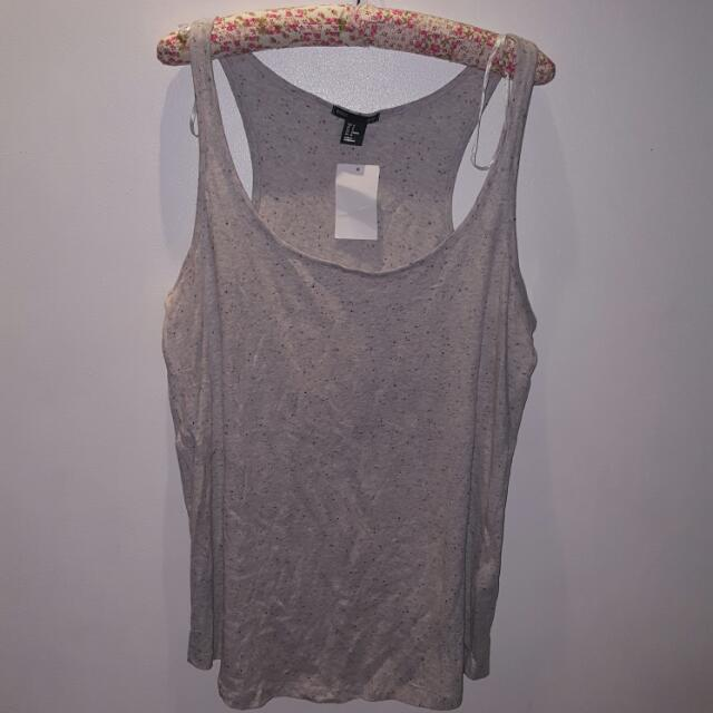 H&M Gray Sleeveless Top - Sz M