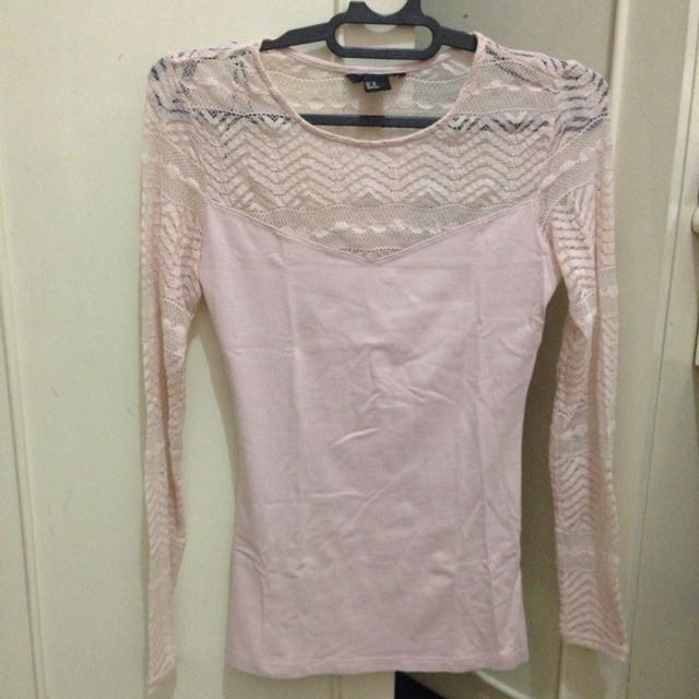 HM lace t shirt ORi