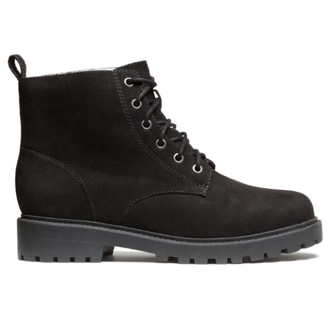 H&M Lace Up Boots