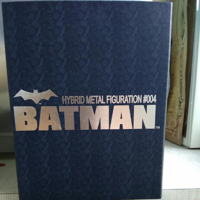 Hybrid Metal Figuration #004 BATMAN