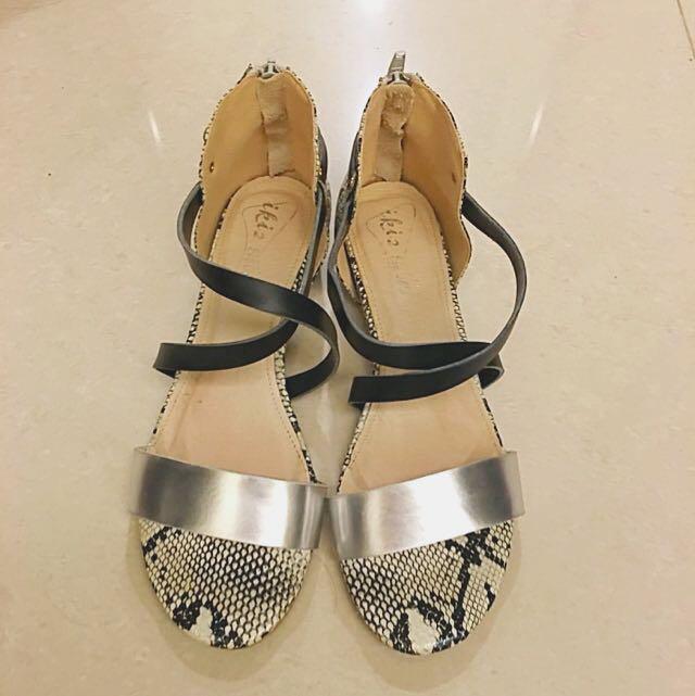 Iki2內增高造型涼鞋