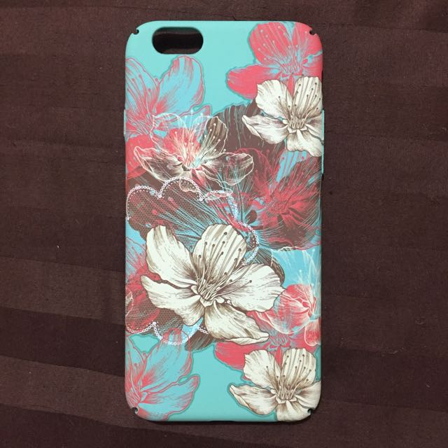 Iphone 6 Floral Mint Case