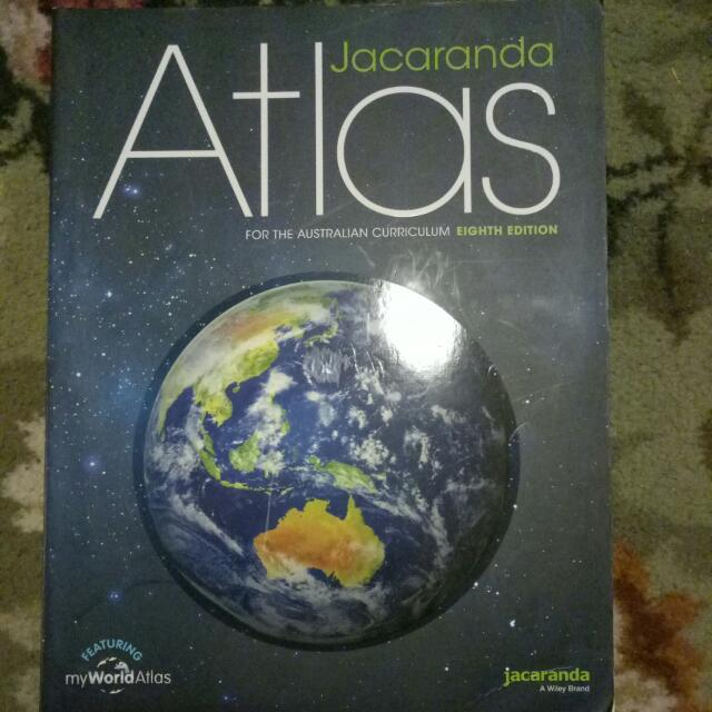 Jacaranda Atlas Eighth Edition