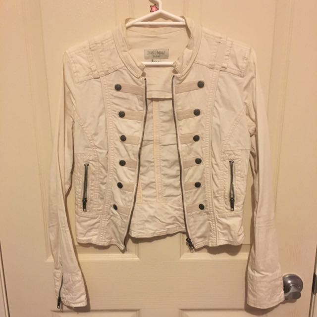 Just Jeans White Jacket