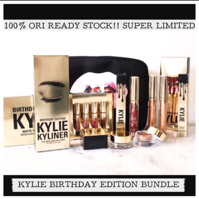 Kylie birthday edition bundle