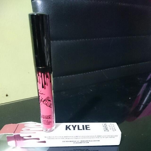 kylie metal matte lipstick