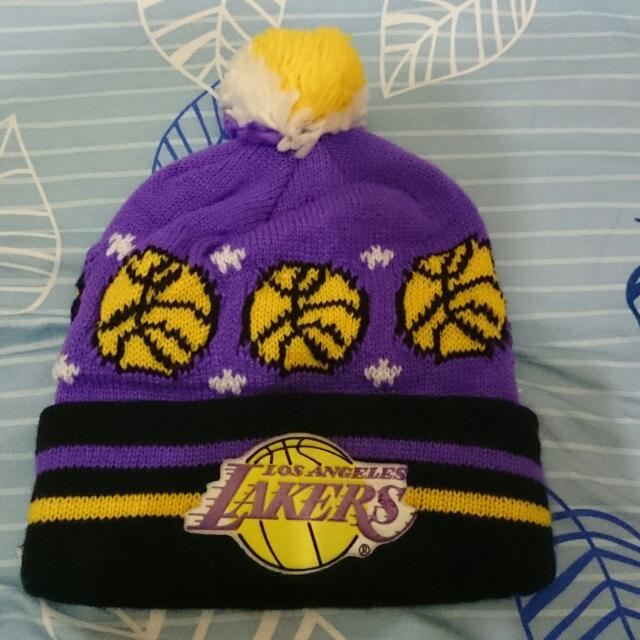 lakers 湖人 nba Kobe bryant 毛帽
