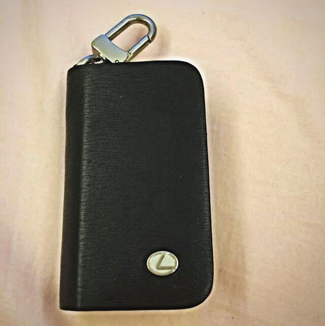 LEXUS原廠真皮鑰匙包