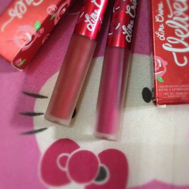 Lime Crime Velvetines Liquid Matte Lipstik