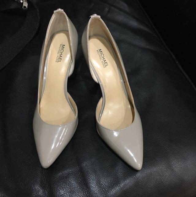 Michael Kors Grey High Heel Pump