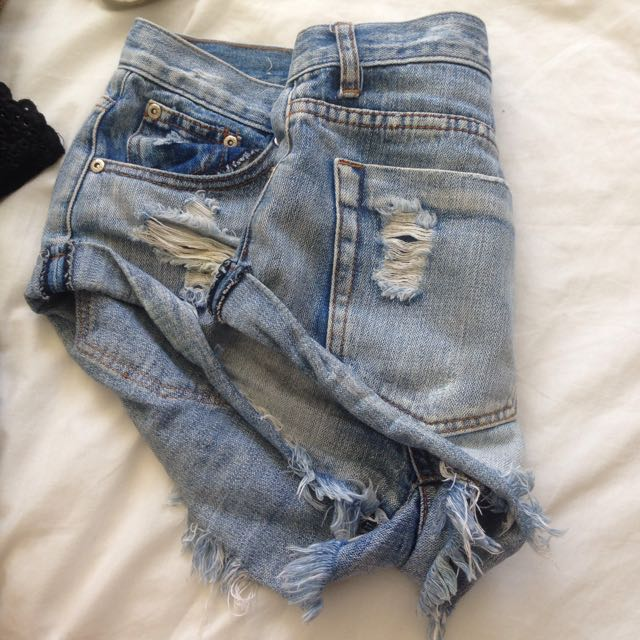NastyGal Denim Shorts