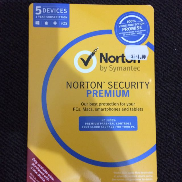 Norton Anti Virus RRP 128