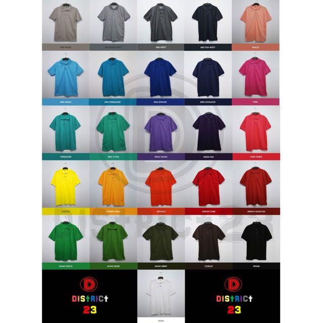 Polo Shirt / Kaos Polo Polos UNISEX