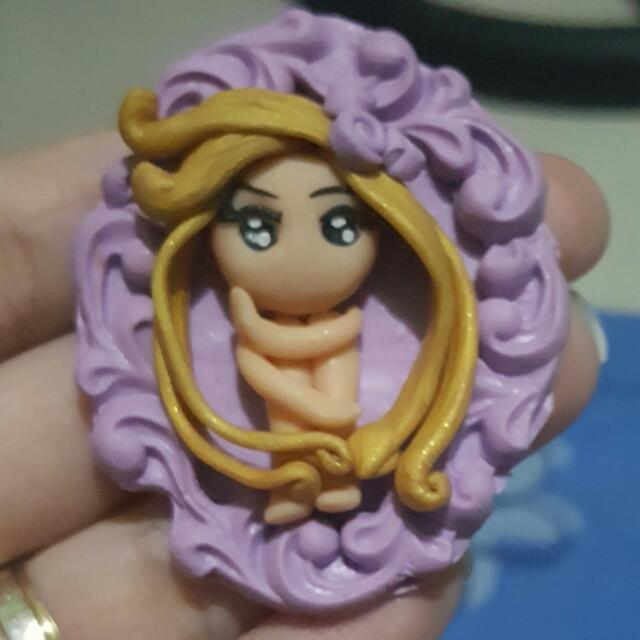 Polymer clay chibi