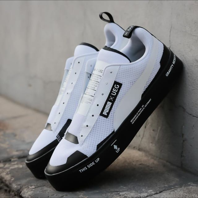 newest 751b2 5a76b PUMA COURT Play Slip On X UEG, Men s Fashion, Footwear on Carousell