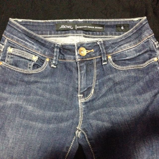 Riders By Lee Denim Skinny Jeans - Size 6
