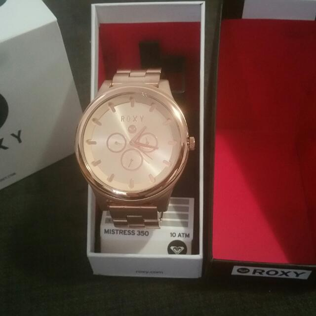 Roxy Rose Gold Ladies Watch
