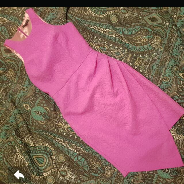 Sheike Pink Dress Size 6 (8)