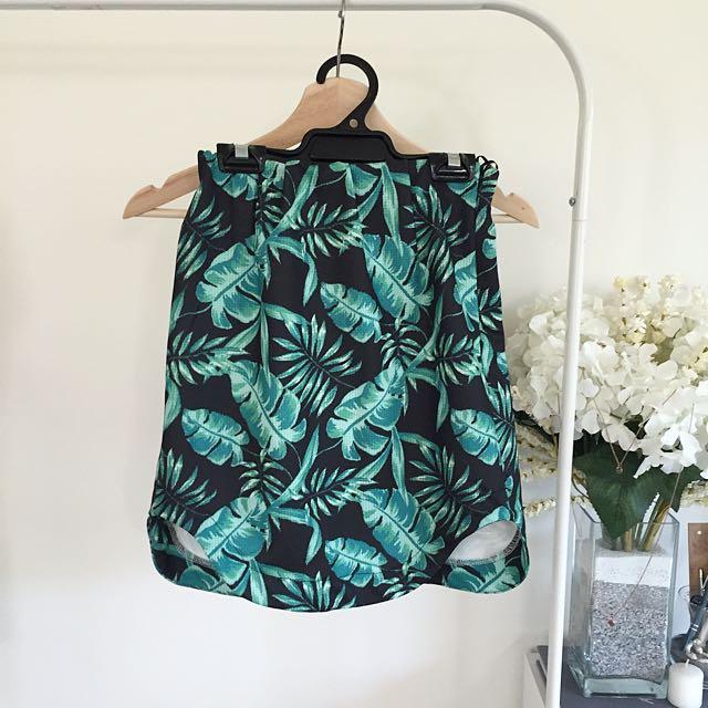 REDUCED Side-Hemmed Skirt